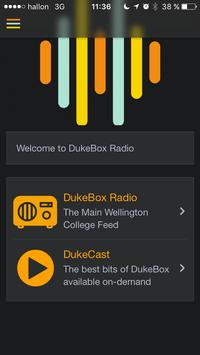 DukeBox Radio apk screenshot