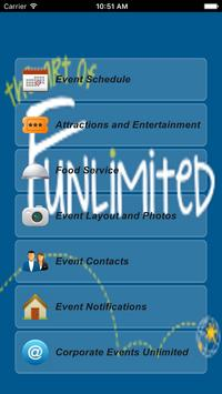 Corporate Events Unlimited poster