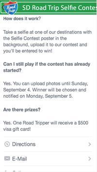 SD Road Trip Contest screenshot 1
