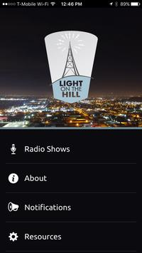 Light On The Hill Radio poster