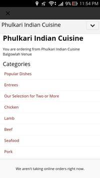 Phulkari Indian Cuisine apk screenshot