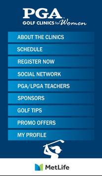 PGA Golf Clinics for Women poster