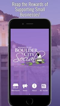 Boulder City Rewards poster