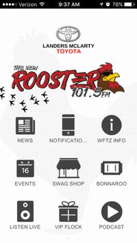 Rooster 101.5 poster