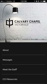 Calvary Chapel Victorville poster
