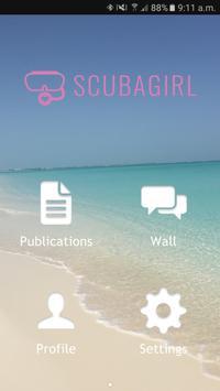ScubaGirl poster