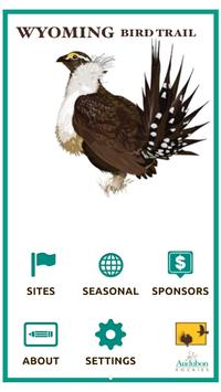 Wyoming Bird Trail poster