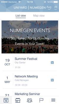 Uniyard Nijmegen apk screenshot