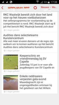 Waalwijk App screenshot 1