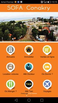 Sofa Guide Conakry الملصق