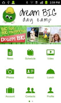 Dream BIG Day Camp poster