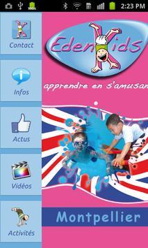 EdenKids Montpellier poster