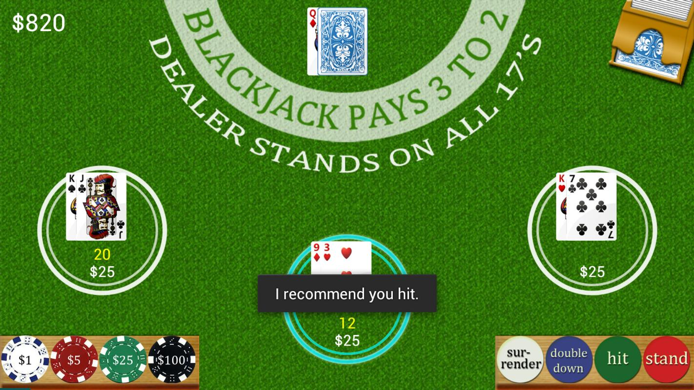 Blackjack Hands To Play