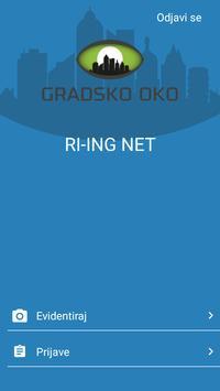 GRADSKO OKO poster