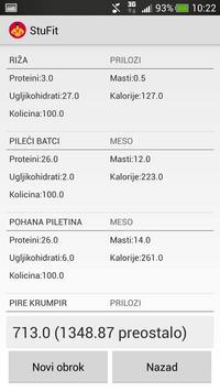 StuFit Demo apk screenshot