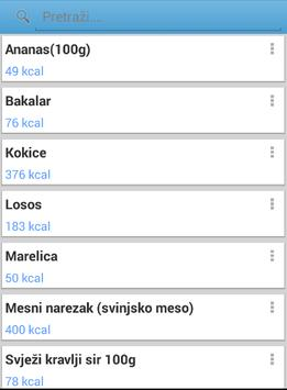 Calorium Demo apk screenshot