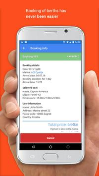 Marinebook - berth booking apk screenshot