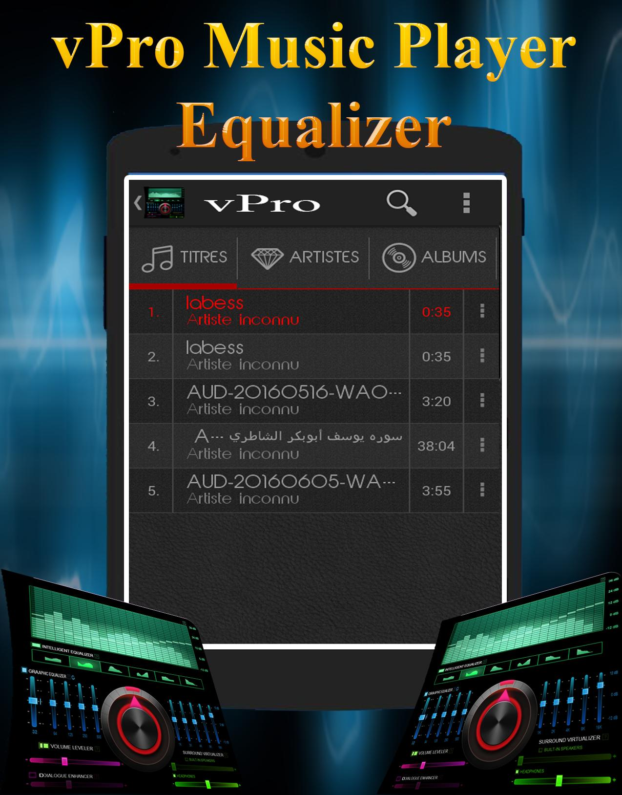 vPro Music Player Equalizer for Android - APK Download