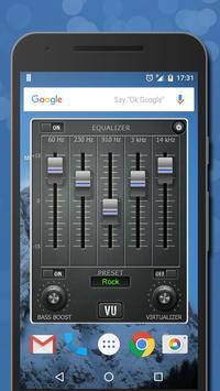 5 Schermata Musica Volume Equalizzatore Potenziatore dei bassi