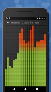 6 Schermata Musica Volume Equalizzatore Potenziatore dei bassi