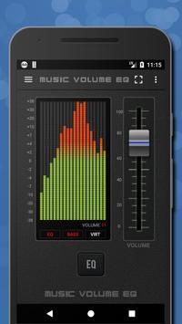 Poster Musica Volume Equalizzatore Potenziatore dei bassi