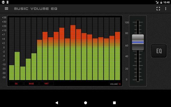 10 Schermata Musica Volume Equalizzatore Potenziatore dei bassi