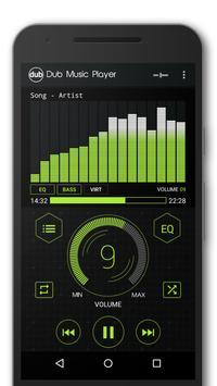 Dub музыкальный плеер + Эквалайзер & Темы скриншот 4