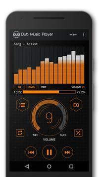 Dub музыкальный плеер + Эквалайзер & Темы скриншот 5