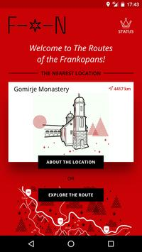 The Routes of the Frankopans poster
