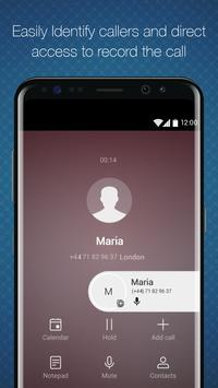 Titanium Voice Recorder with number ID imagem de tela 5