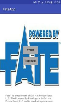 FATE App poster