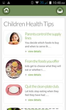 HealthTips apk screenshot