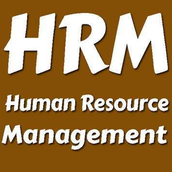 Human Resource Management - An offline app poster