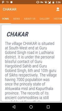 Chakar poster