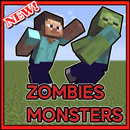Monsters mod and zombies for Minecraft APK