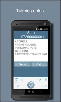 HSW voice command apk screenshot
