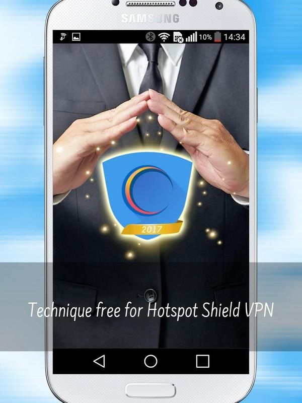 how to use hotspot shield vpn on android