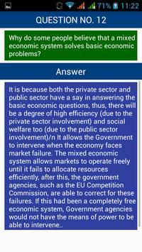 Economics Interview Questions screenshot 3