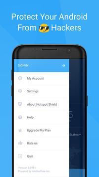 Free VPN Proxy Hotspot Shield apk screenshot