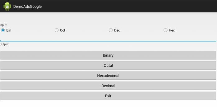 Convert Number Systems apk screenshot