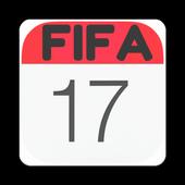 Calender for Fifa17 icon