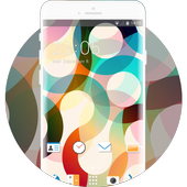 Abstract Minimal Theme for HTC Desire 820G icon