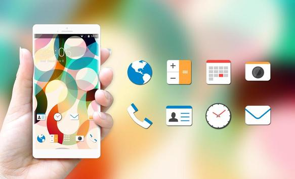 Abstract Minimal Theme for HTC Desire 820G screenshot 3