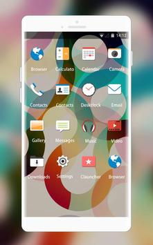 Abstract Minimal Theme for HTC Desire 820G screenshot 1