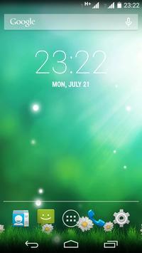 Green Aurora Live Wallpaper screenshot 1