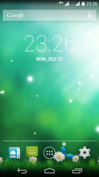 Green Aurora Live Wallpaper screenshot 2