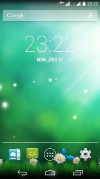 Green Aurora Live Wallpaper screenshot 3