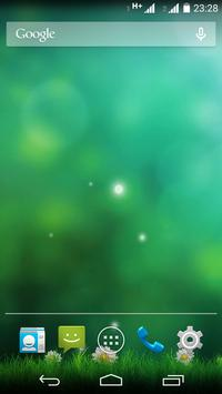 Green Aurora Live Wallpaper screenshot 7