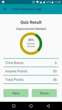 Htet Preparation app in hindi apk screenshot