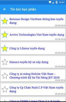 Theo dõi thông tin CTU CET apk screenshot